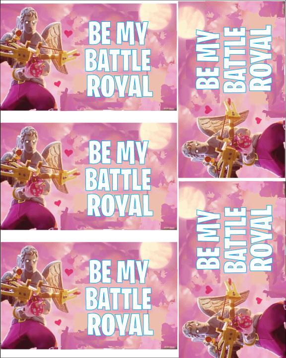 Fortnite Valentines Ideas Kids Free Printable Fortnite Valentines Card Mandy S Party Printables